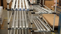 Lean storage pipe racking system